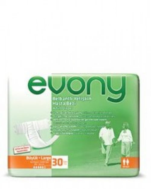 Fraldas p/Adultos Large Evony 30 unidades