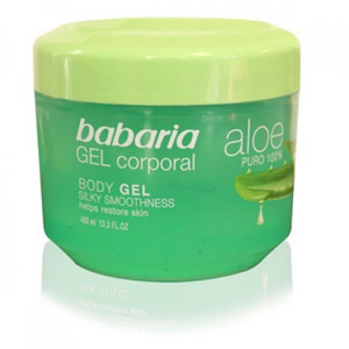Gel Corporal Puro 100% Aloe Vera Babaria 400ml