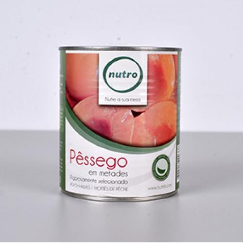 Pêssego Metades Lata Nutro 825gr