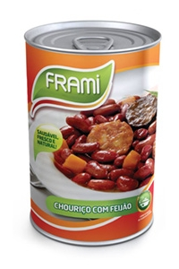 Chouriço c/Feijão Frami