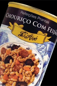 Chouriço c/Feijão D'Avó Lata