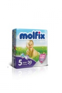 Fraldas Junior 11-25Kg Molfix Twin 30und