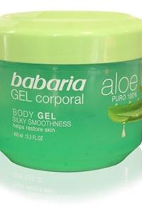 Gel Corporal Puro 100% Aloe Vera Babaria