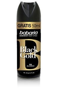 Desodorizante Body Spray Black Gold Babaria