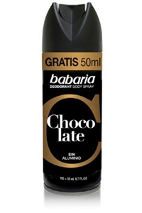 Desodorizante Spray Chocolate Babaria