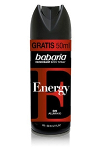 Desodorizante Spray Energy Babaria