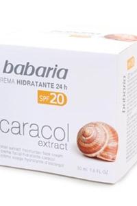 Creme Facial Hidratante SPF-20 Extrato de Caracol Babaria
