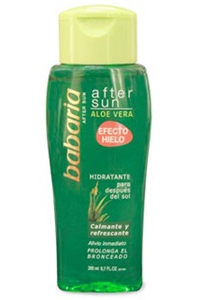 After Sun Gel Aloe Vera Babaria