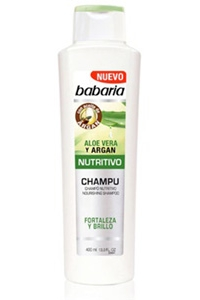 Champô Nutritivo Aloe Vera Babaria
