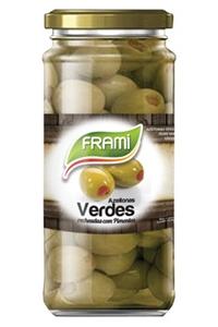 Azeitona Verde c/Recheio Pimentos Frami
