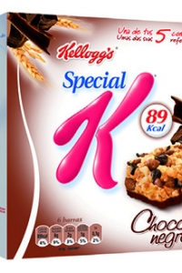 Barras Special K Chocolate Negro
