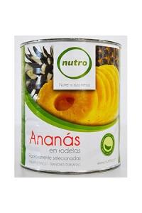 Ananás Rodelas Lata Nutro