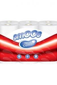 Papel Higiénico Amoos 2F 12 Rolos