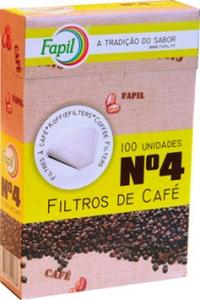 Filtros Café nº4 Fapil